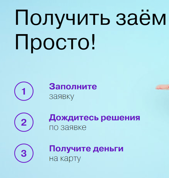 Как получить деньги от КредитСевен - краткая инструкция