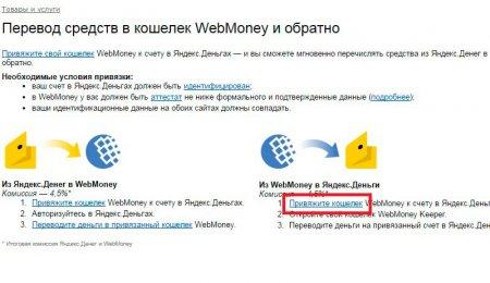 Как пополнить кошелек Яндекс Деньги через WebMoney и наоборот?